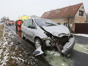 Dopravní nehoda na Krétě u Terezína