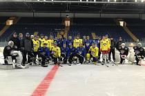 HC Slovan Ústí nad Labem vyjel v pondělí 26. července poprvé na led ústeckého zimního stadionu.