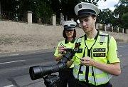 Dopravní policie získala speciální dalekohled s fotoaparátem pro pozorování na velkou vzdálenost.