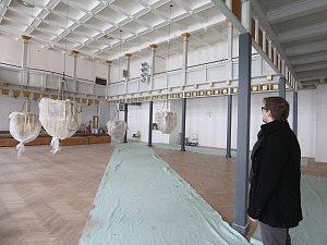 Rekonstrukce kulturního centra Lovoš finišuje