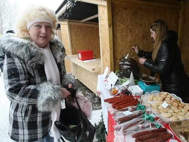 Vánoční trhy v Lovosicích.