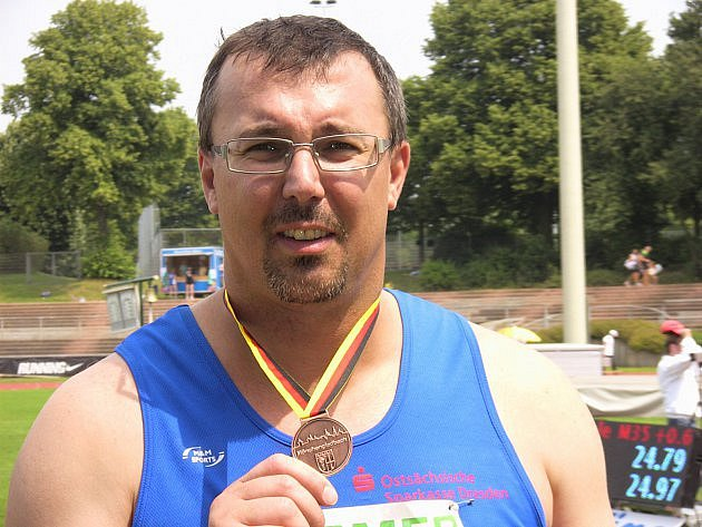 Lovosický atlet Jaroslav Smělý.