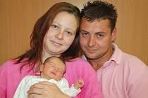 Marii Hroudové a Michalu Krajníkovi z Litoměřic se 29. května  v 6.25 hodin v litoměřické porodnici narodila dcera Eliška Krajníková  (47 cm, 2,69 kg).