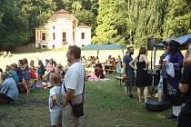 Benefiční festival v zámecké zahradě v Milešově