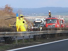 Nehoda na dálnici D8, 22.3.2016