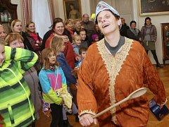 Konec turistické sezony na zámku v Libochovicích