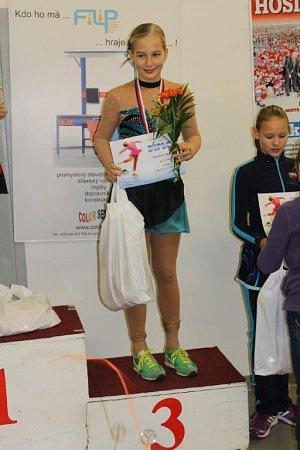 DAŘILO SE. Karolína Čaňková vminulé sezoně získala celkem osm medailí.