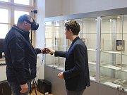 Nové výstavní prostory v Dělostřeleckých kasárnách v Terezíně otevřelo Centrum studií genocid