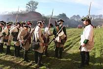 Josefínské slavnosti v Terezíně - hlavní bitva.