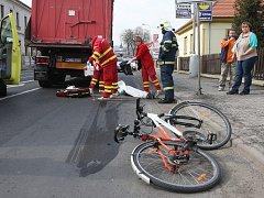 Tragická nehoda v Litoměřicích.