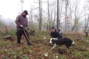 V Lovečkovicích pořádali dobrovolnickou akci Zasaď si svůj strom. Místní vysázeli více než 1500 stromů.