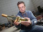 Příprava vína na Vinařské Litoměřice 2017