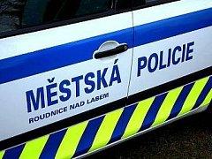 Městská policie Roudnice nad Labem - ilustrační foto.