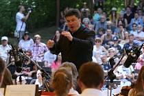 Vrcholem letošní Litoměřické letní filharmonie (LLF) byl nedělní koncert v letním kině.
