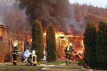 Požár v Sutomi