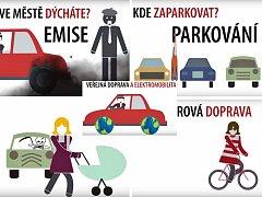Klipy upozorňují na základní problémy dopravy v Litoměřicích