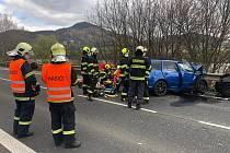 Tragická nehoda u Prackovic