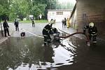 Stoupající voda v Litoměřicích