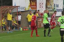 Litoměřicko dostalo gól v poslední minutě.
