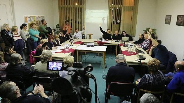 Zasedání zastupitelů města Terezín
