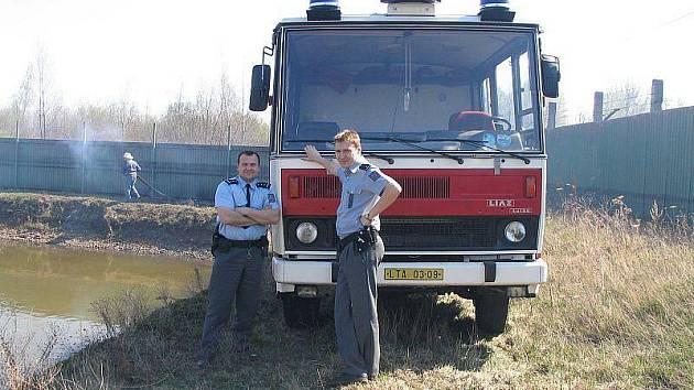 Z archivu bohušovických hasičů.