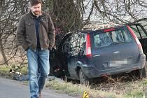 Tragická nehoda u Brňan