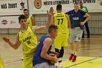 Basketbalové utkání Litoměřice a Drážďany v turnaji O štít města Litoměřice 2019