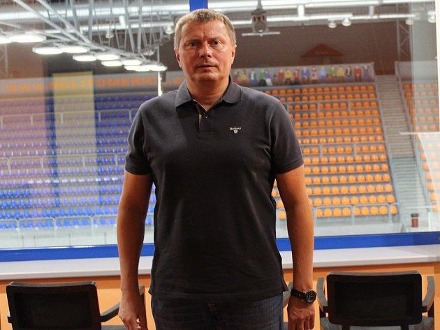 Předseda HC Stadion Litoměřice Daniel Sadil.