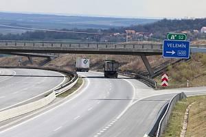 Prořídlá doprava na dálnici D8