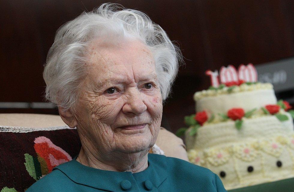 Jarmila Kočová oslavila 100 let.