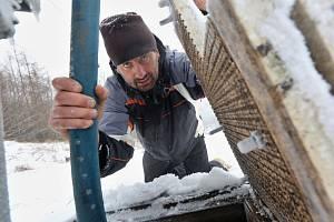 Příprava na lyžování na Malečově