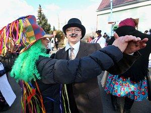Tradiční masopust v Lukavci