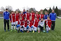 Starší žáci U14 SK Roudnice nad Labem.