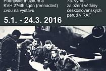 Nová výstava ukazuje Čechoslováky v RAF