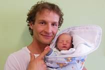 Vladimíře Benešové a Františku Srpkovi z Travčic se 28. května  ve 13.13 hodin narodil v Litoměřicích syn Antonín Beneš. Měřil 49 cm a vážil 2,89 kg.