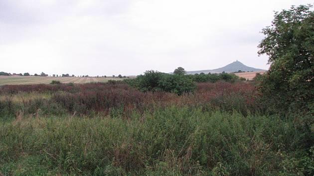 MÍSTA, kde stávala osada Doly.