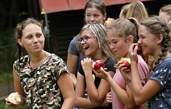 Letní dětský tábor v kempu Jordán v Oparně