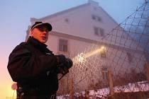 Městští strážníci v Roudnici nad Labem kontrolují  areál bývalého pivovaru  pouze namátkově nebo na telefonické upozornění.