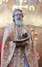 Pravoslavná církev slaví Vánoce. Bohoslužbu sloužil nový pravoslavný kněz Ivan Hadrava.