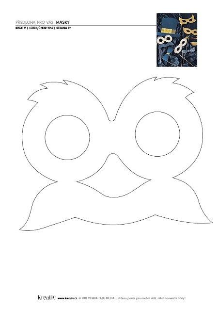 předloha masky 1