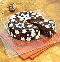Zimní dort s marcipánem