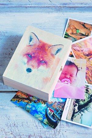 obrázky na dřevěnou krabičku