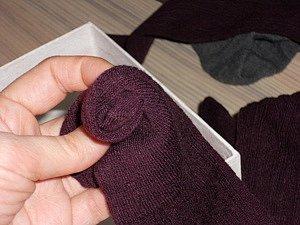 Přípava - ponožky