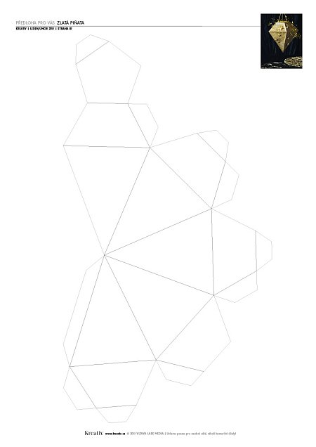 předloha pinata pdf