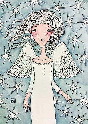 omalovánky Andělé