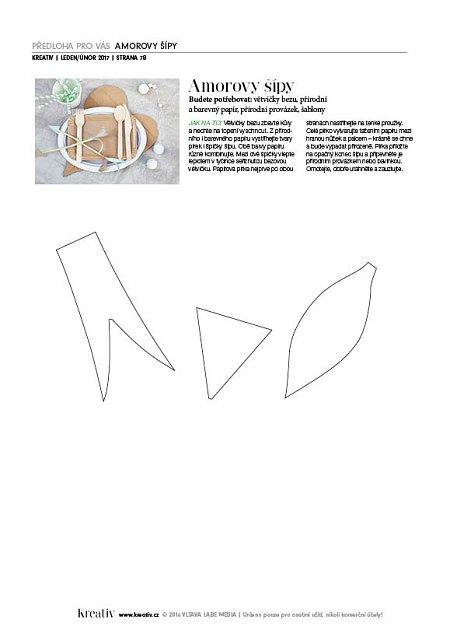 obrázek předloha šipky