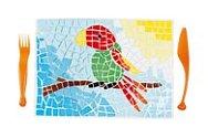 Mozaika na prostírání
