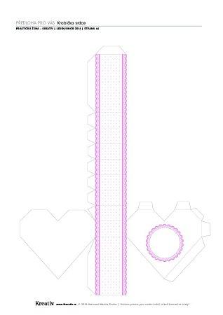 Srdíčková krabička - náhled 2