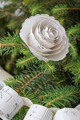 papírová růže obrázek