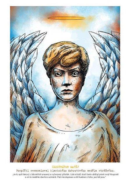 Andělé omalovánky 1